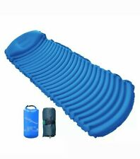 Inflatable Ultralight Sleeping Pad, Insulated and Static Camping Pad