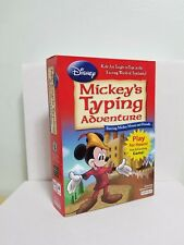 DISNEY Mickey's Typing Adventure_Brand New & Sealed_Free Shipping