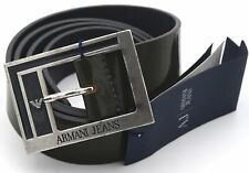 ARMANI JEANS WOMAN BELT 100% LEATHER MADE IN ITALY CASUAL CODE N5110 DEFECT