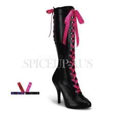 Zip Medium Width (B, M) Slim Heels for Women