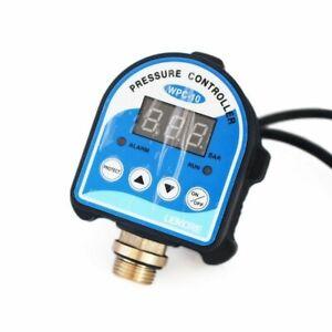 Electronic Pressure Control Switch Digital Display Water Pump Alarm Indicator