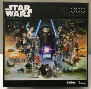 New Star Wars If Skywalker Returns The New Jedi Will Rise 1000 Piece Puzzle