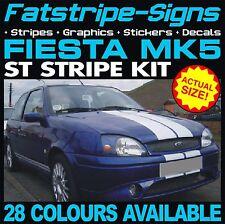 FORD FIESTA MK5 ST STRIPES GRAPHICS DECALS STICKERS CAR 1.2 1.6 1.8 16V ZETEC