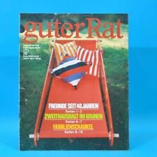 Guter Rat 2-1985 Verlag für die Frau DDR Sossen Stereo-Steuergerät Haarpflege B