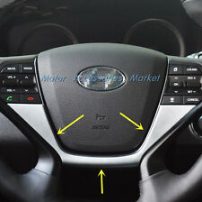New Chrome Steering Wheel Cover Trim For Hyundai Sonata LF 2015 2016