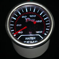 "Pointer 2"" 52mm Car Universal Smoke Len LED Water Temp Temperature Gauge HY"