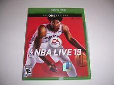 Original Box Case Xbox One XB1 - NBA LIVE 19