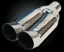 TERMINALE DI SCARICO 2x90mm DTM Absorber, DTM-look, 33cm, TÜV-Libero