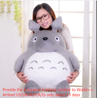 45cm Giant Big Totoro Plush Toy Hobbies Rare Stuffed Totoro Grey Anime Doll gift
