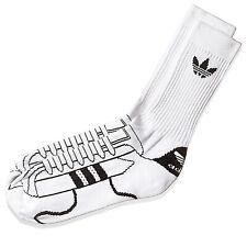 Adidas Originals Mujer Hombre Calcetines Superstar Medias Blanco y Negro