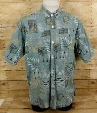 New listing Paradise Island Hawaiian Shirt Mens XL Short Sleeve Floral