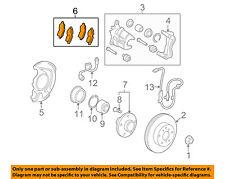 TOYOTA OEM 09-15 Venza Brake-Front Pads 044650T010