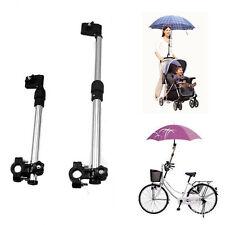 Stroller Pram Umbrella Wheelchair Adjustable Stainless Steel Stand Holder