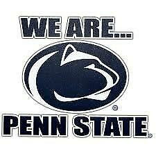 Penn state NIttany Lions cornhole set of 2 decals  Multiple sizes, #5