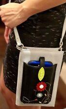 ESPE Hibiscus iSmart Purse Turquoise Organizer Wallet Smart  Phone Shoulder Bag