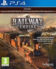 Sony PlayStation 4 Railway Empire Ps4 Official