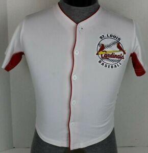 ST. LOUIS CARDINALS MLB BASEBALL YOUTH JERSEY YADIER MOLINA #4 SIZE LARGE L