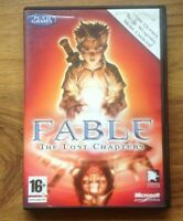 FABLE THE LOST CHAPTERS PC RPG (inlcudes key code). Free UK Postage