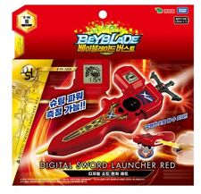 "TAKARA TOMY BEYBLADE BURST B-94 DIGITAL SWORD LAUNCHER""RED""-Freeship&Tracking"""