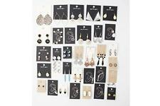 Wholesale Stud on Card Earrings 100 pairs FREE SHIPPING  US Seller From NYC