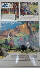 Prince Valiant Days of King Arthur by Hal Foster 22x17 Limited Ed Print 984/1500