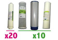 Filtros osmosis: Filtros+postfiltro(10+10+10+20). Filter RO Kit. Kit osmoseur.