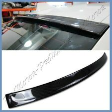 Carbon Fiber 11-16 BMW F10 3D Type ROOF Spoiler Wing For 528i 535i 550i M5 4Dr