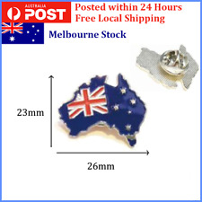 Home & Garden Badges Humorous Metal Badge Australia Friendship Flag Label Pin Badges Icon Bag Decoration Buttons Brooch For Clothes 2019 Official