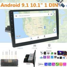 "Android9.1 10.1"" Single DIN Car Bluetooth Stereo Radio MP5 Player GPS Navigation"