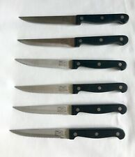 6 CHICAGO CUTLERY Steak Knives 5G14D