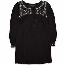 French Connection Damen Kleid Dress A-Linie Gr.S (DE 38) Tunika Pailletten 98395
