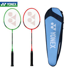 Yonex Badminton Racket B-4000 Red Green Racquet String with Cover 2 SET 97g