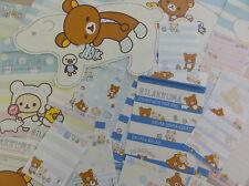 Rilakkuma SHIMA kawaii stationery san-x memo letter set bear cute gift girl lot