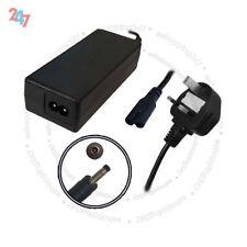 """Ordenador Portátil AC Cargador Adaptador para HP Stream 11-d015na 11.6"""" + 3 Pin Cable De Alimentación S247"""