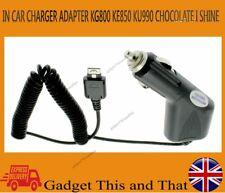 IN CAR CHARGER FOR LG KC550 KC910 KU990 KE850 KG800 UK