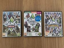 The Sims 3 - 5 Game Bundle - Base Game + 4 Expansions - PC DVD Rom - Free Post