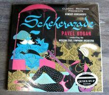 Classic Records Rimsky-Korsakoff Scheherazade Kogan MSSO 200G LP Audiophile NEW
