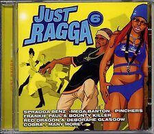 Reggae Music Just Ragga Vol 6 CRCD0706 Jet Star Records Sealed CD Comp 2002 New