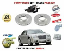 FOR CHRYSLER 300C 3.0 CRD 3.5 5.7 2005> FRONT BRAKE DISCS SET AND DISC PADS KIT