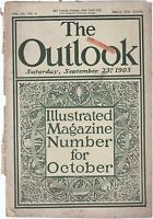 The Outlook Magazine September 23 1905 Joseph Pennell Franz Arens