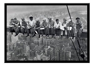 100x140 cm New York Lunch on a Skyscraper Giant XXL Poster