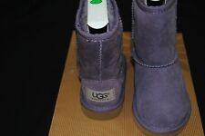 NIB UGG® Classic TODDLER SHORT PURPLE 5251 K/PURPLE Sheepskin Boots SIZE 4