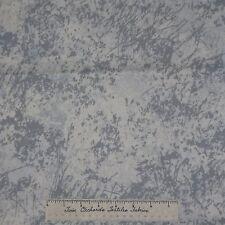Modern Mod Fabric - Floral Gray Off White Sand Dunes - Dear Stella Cotton YARD
