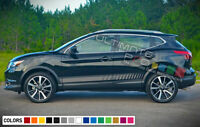 2x Sticker Decal Graphic Side Door Stripes for Nissan Rogue 2018 Sport SUV Turbo