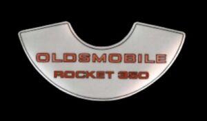 Oldsmobile 1969-74 350 4V Rocket Air Cleaner Decal
