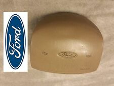 97-02 Ford F150 EXPEDITION Driver steering wheel  Air Bag airbag tan