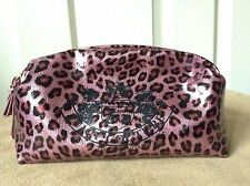 Juicy Couture Animal Print Make Up Bag / Travel Purse