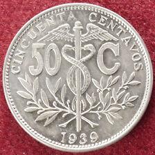 Bolivia 50 CENTAVOS 1939 (D2308)