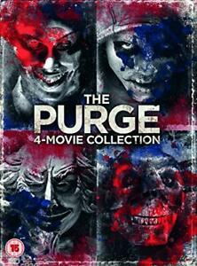 The Purge: 4-Movie Collection (DVD) [2018][Region 2]