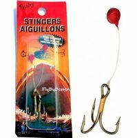 Lindy #10 Stinger Aiguillons Hooks - Sharp Fishing Treble Hooks